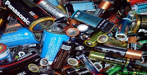 Bir Yılda 530 Ton Atık Pil Toplandı