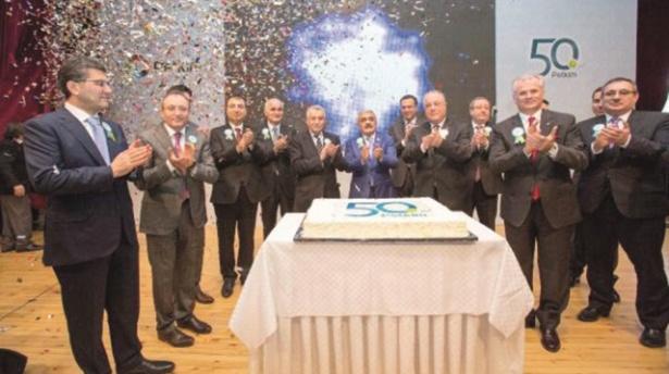 petkim 50 yasini yatirimla kutluyor - Petkim 50. yaşını yatırımla kutluyor