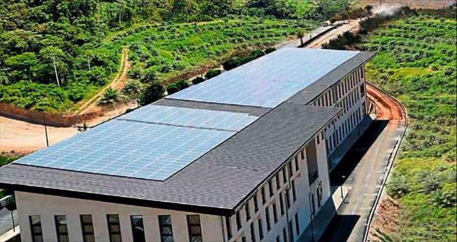 gunesten enerji ureten ilk universite hku - Güneşten enerji üreten ilk üniversite HKÜ