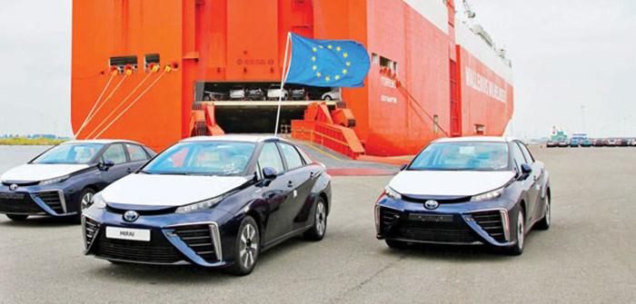hidrojen yakitli ilk seri uretim otomobil - Hidrojen yakıtlı ilk seri üretim otomobil