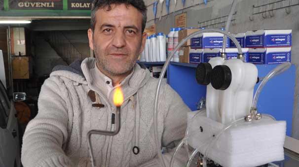 yakit tasarrufu saglayan cihaz uretti - Yakıt tasarrufu sağlayan cihaz üretti