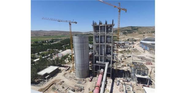 150 Milyonluk Çimento Fabrikası Nisan'da Açılıyor