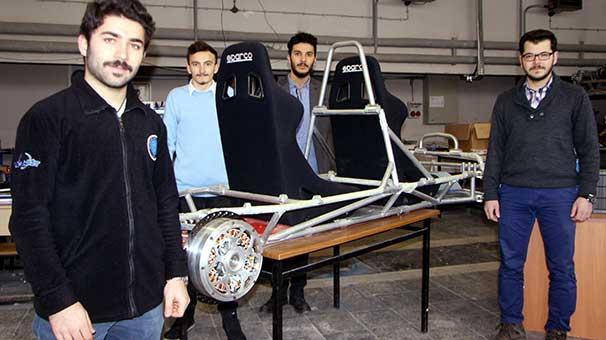 hidrojenle calisan otomobilin motorunu jantin icine sigdirdilar 1 - Hidrojenle çalışan otomobilin motorunu jantın içine sığdırdılar