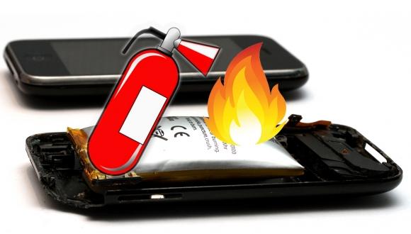 kendini sondurebilen lityum iyon batarya - Kendini söndürebilen lityum iyon batarya!