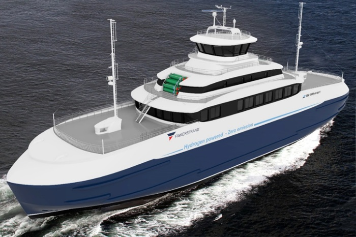norvec merkezli fiskerstrand hidrojen yakit hucreli feribot insa edecek - Norveç merkezli Fiskerstrand, hidrojen yakıt hücreli feribot inşa edecek