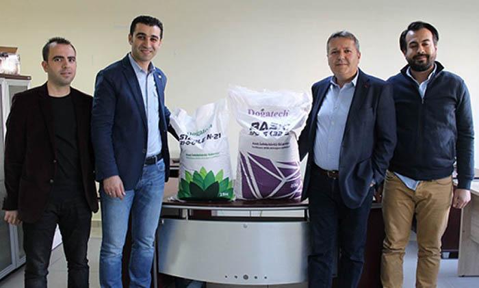 turkiye nin ilk milli gubresi kayseri de uretildi - Türkiye'nin ilk milli gübresi Kayseri'de üretildi