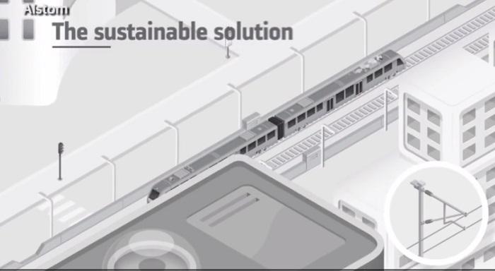 almanya sadece buhar yayarak sifir emisyon ile calisan trenini tanitti - Almanya, Sadece Buhar Yayarak Sıfır Emisyon İle Çalışan Trenini Tanıttı