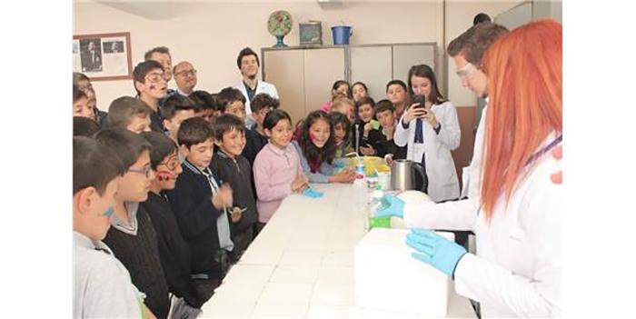 esogu kimya muhendisligi ogrenci kulubu mihaliccikli genclerle bulustu - Esogü Kimya Mühendisliği Öğrenci Kulübü Mihalıççıklı Gençlerle Buluştu