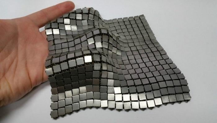 nasa metalik uzay kumasi yapti - NASA metalik uzay kumaşı yaptı!