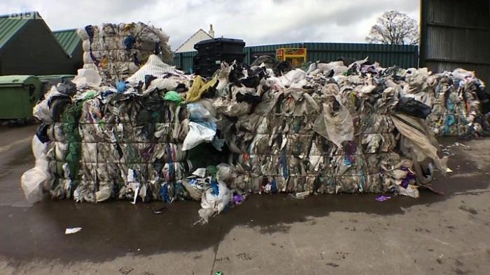 plastik atiklardan yol yapildi - Plastik atıklardan yol yapıldı