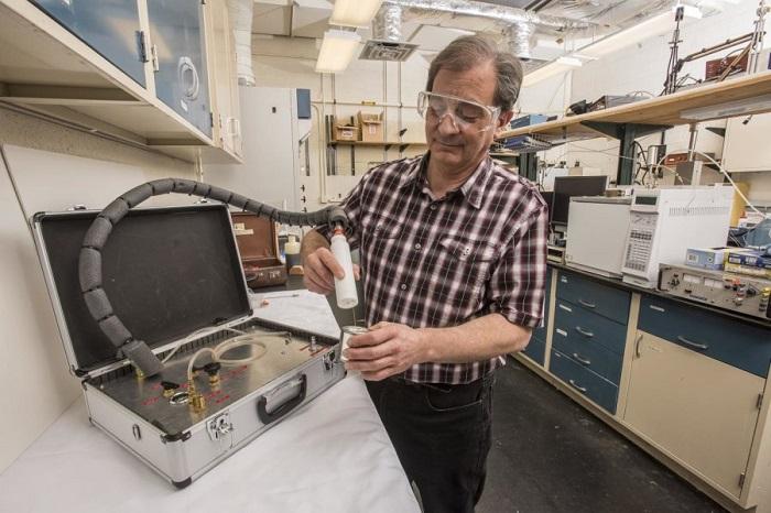 tasinabilir nist kiti kimyasal delillerin izlerini bulabilir - Taşınabilir NIST Kiti, Kimyasal Delillerin İzlerini Bulabilir