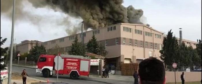 tekirdag da fabrikada kimyasal sizinti panigi 40 isci hastanelik oldu - Tekirdağ'da fabrikada kimyasal sızıntı paniği: 40 işçi hastanelik oldu
