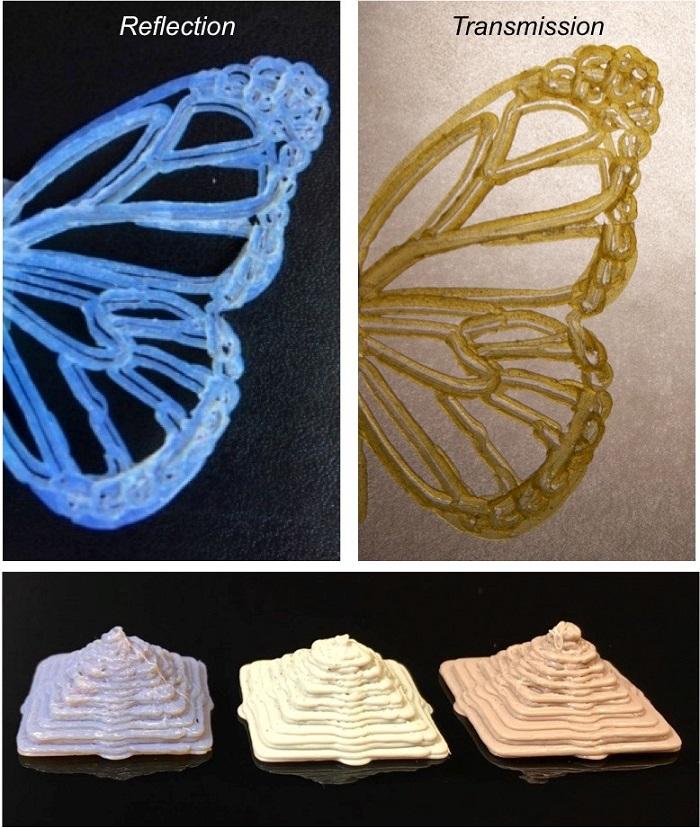3D Baskılarda Boyalar ve Pigmentler Yerine Fotonik Kristal Kullanımı