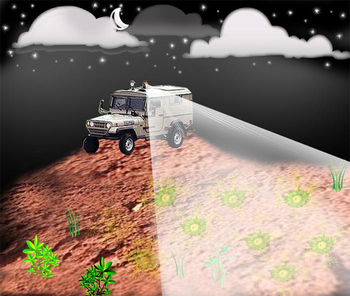 Parlayan Bakteriler Gömülü Mayınları Tespit Ediyor
