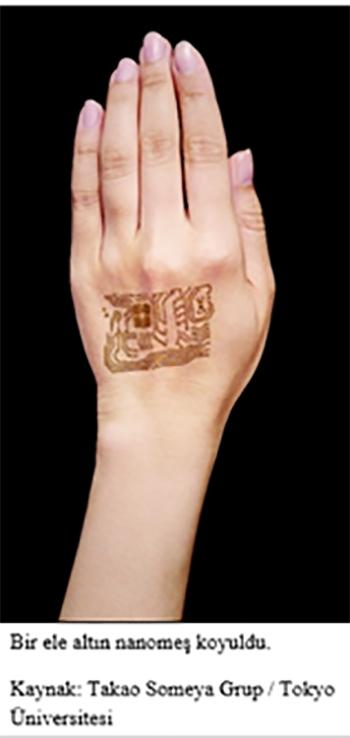 altin nanomes nefes alabilen elektronik bir cilt olusturur 2 - Altın Nanomeş, Nefes Alabilen Elektronik Bir Cilt Oluşturur