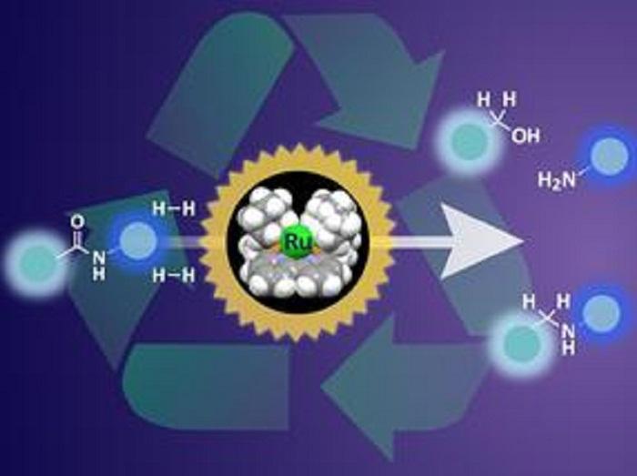 Organa Rutenyumlu Hidrojenasyon ile Plastik Atıklar Parçalanıyor