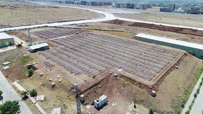 sanliurfada gunes enerji sistemi kuruluyor - Şanlıurfa'da Güneş Enerji Sistemi Kuruluyor