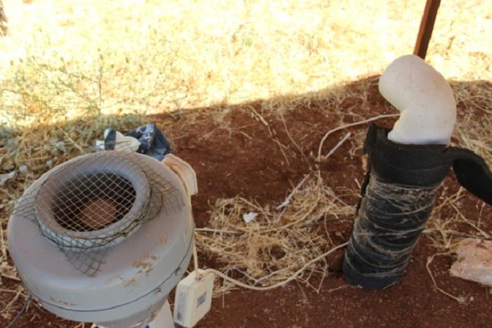 sicak havayi topraktan gecirip soguk hava uretiyor - Sıcak Havayı Topraktan Geçirip Soğuk Hava Üretiyor