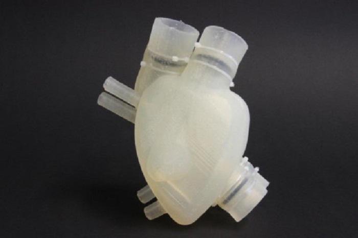 Silikondan Üretilen Yapay Kalp Araştırmacılar Tarafından Test Edildi!