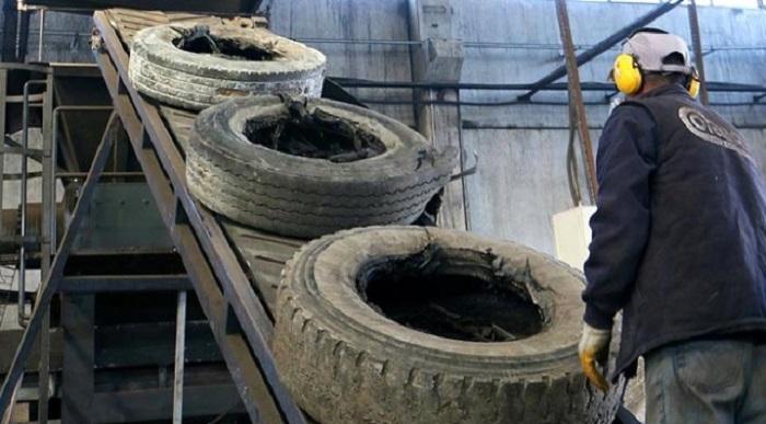 8 Ayda 101 Bin Ton Hurda Lastik Geri Dönüştürüldü