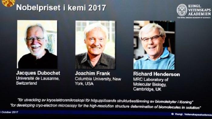 nobel kimya odulu biyomolekulleri 3 boyutlu olarak goruntuleyen bilim insanlarina verildi - Nobel Kimya Ödülü, Biyomolekülleri 3 Boyutlu Olarak Görüntüleyen Bilim İnsanlarına Verildi